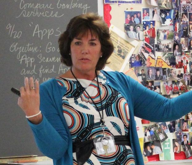 Mrs B teaching